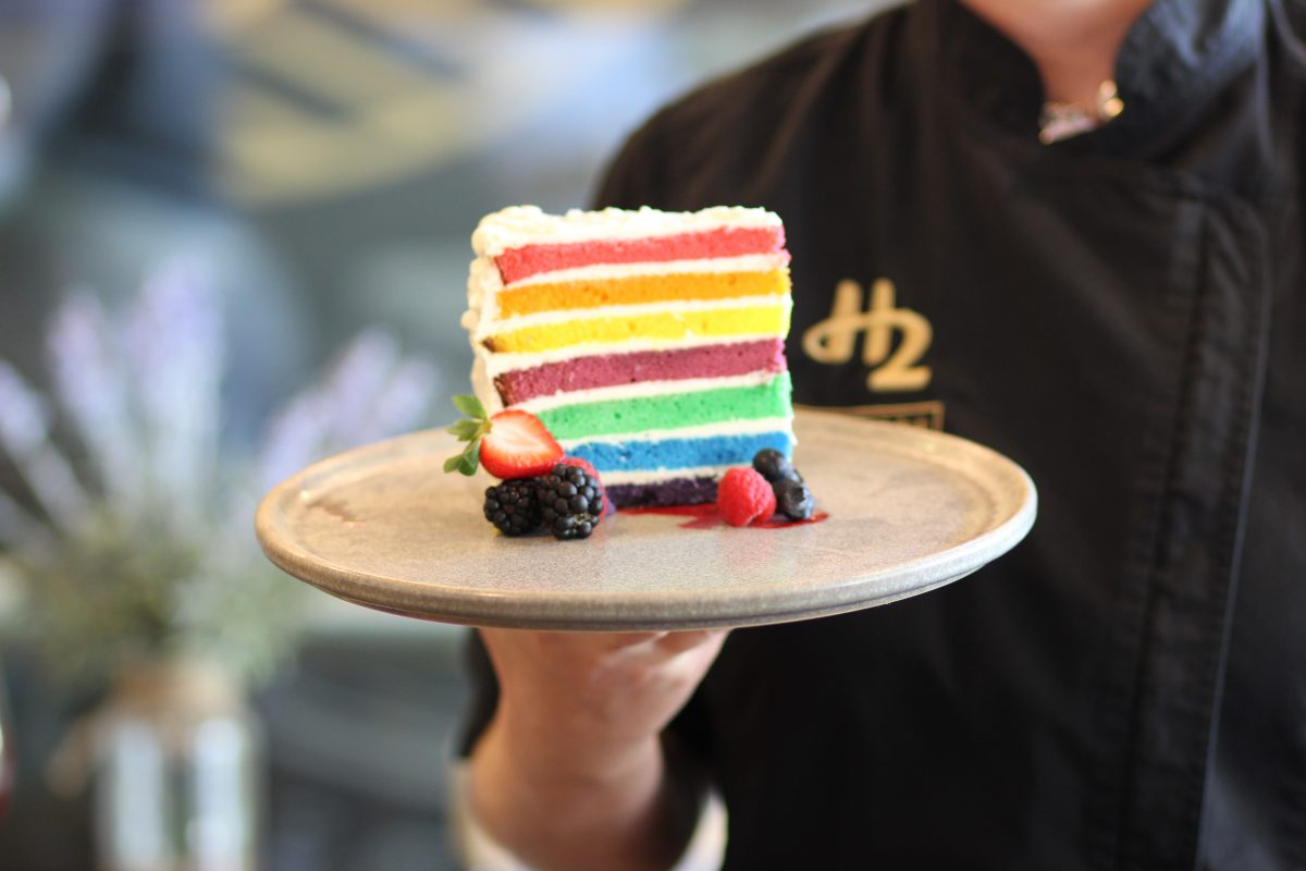 We Take the (Rainbow Striped) Cake for Pride 2018!